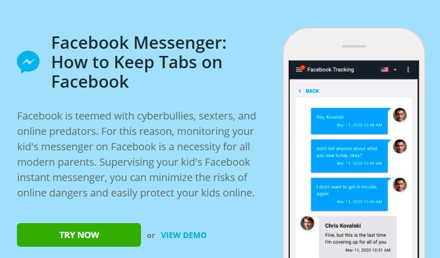 Mspy facebook messenger